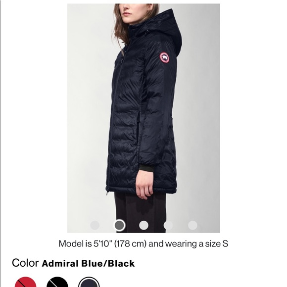 4892537f4 BRAND NEW - CANADA GOOSE CAMP HOODED JACKET NWT